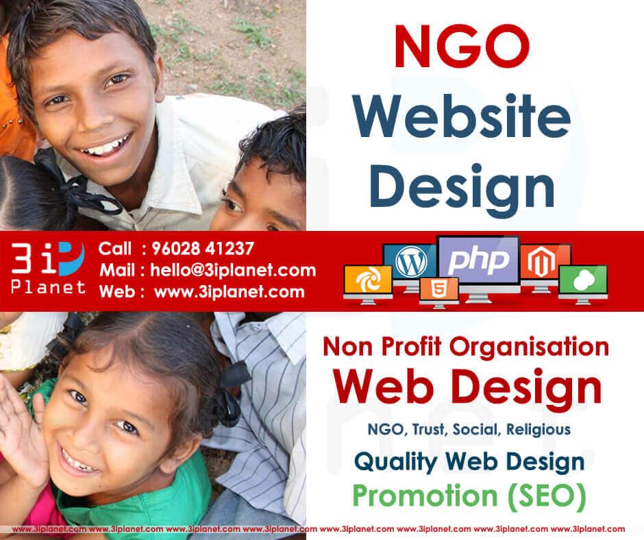 Ngo Website Design Services