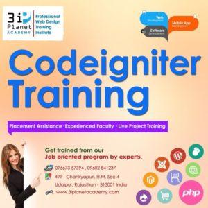 Codeigniter Framework Training in Udaipur