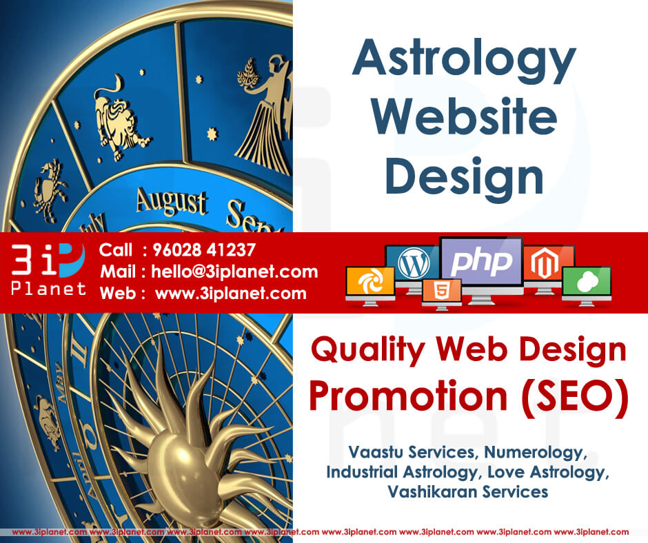 Astrology Website Design Services