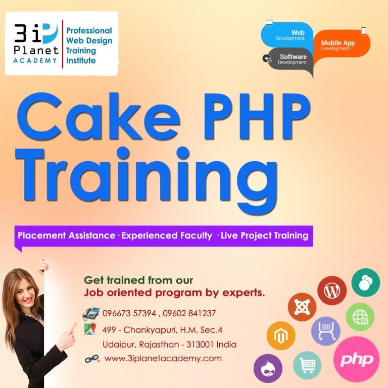 Cake PHP Framework Training in Udaipur