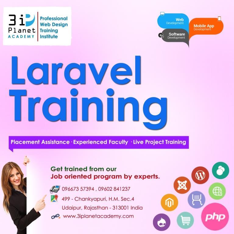Laravel Framework Training in Udaipur