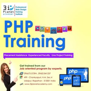 PHP Training in Udaipur